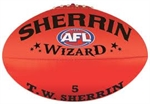 SHERRIN WIZARD LEATHER-afl-Sportspower Nowra | Online Sports Store | Fitness | Running | Football | Cricket | NRL