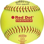 "SOFTBALL RED DOT 12""-baseball-softball-Sportspower Nowra 