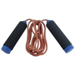 9' LEATHER SKIP ROPE-accessories-Sportspower Nowra | Online Sports Store | Fitness | Running | Football | Cricket | NRL