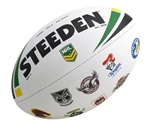 NRL ALL TEAM LOGO-balls-Sportspower Nowra | Online Sports Store | Fitness | Running | Football | Cricket | NRL