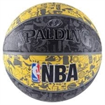 NBA GRAFFITI OUTDOOR-balls-Sportspower Nowra | Online Sports Store | Fitness | Running | Football | Cricket | NRL