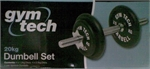 20KG DUMBELL SET-weights-Sportspower Nowra | Online Sports Store | Fitness | Running | Football | Cricket | NRL