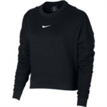 DRY TOP LS CREWNECK CROP-womens-Sportspower Nowra | Online Sports Store | Fitness | Running | Football | Cricket | NRL