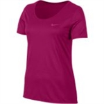 DRY TEE LEG SCOOP-womens-Sportspower Nowra | Online Sports Store | Fitness | Running | Football | Cricket | NRL