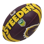 BRONCOS SUPPORTER BALL-balls-Sportspower Nowra | Online Sports Store | Fitness | Running | Football | Cricket | NRL