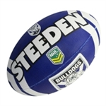 BULLDOGS SUPPORTER BALL-rugby league-Sportspower Nowra | Online Sports Store | Fitness | Running | Football | Cricket | NRL