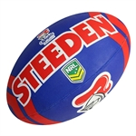 KNIGHTS SUPPORTER BALL-rugby league-Sportspower Nowra