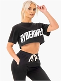 BLOCK CROPPED TEE-apparel-Sportspower Nowra
