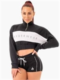 CROPPED TRACK JUMPER-apparel-Sportspower Nowra